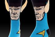 Star Trek Spock crew socks